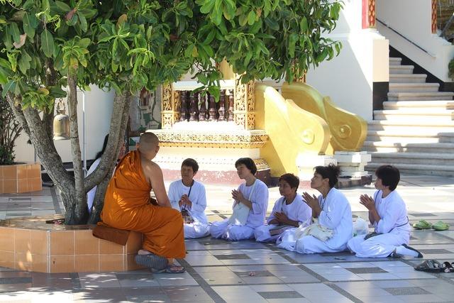 Buddhism thailand temple, religion.