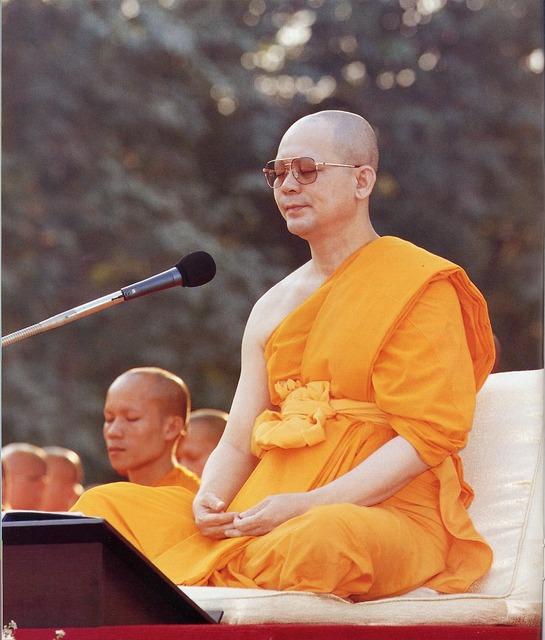 Buddhist leader wat, religion.