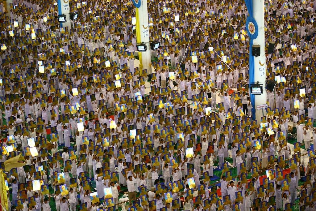 Buddhists crowd people, people.