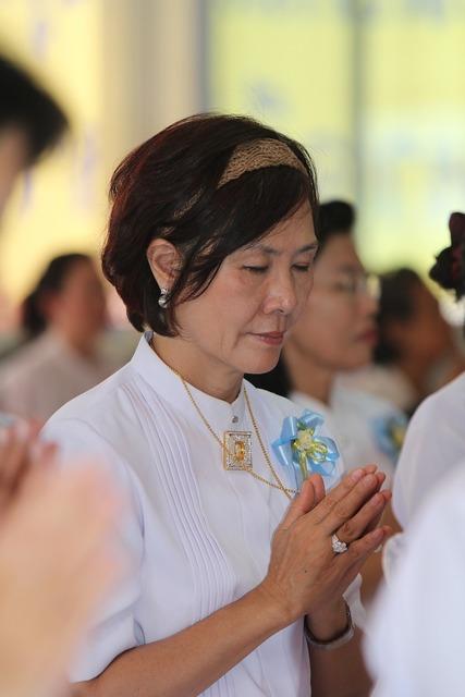 Buddhists praying people, people.