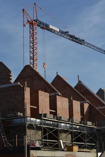 Build house bricks, architecture buildings.