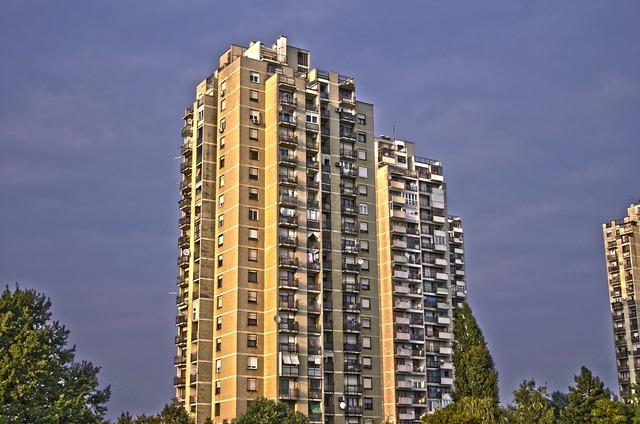 Building apartments condos, architecture buildings.