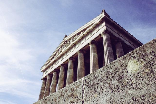 Building architecture columnar, architecture buildings.