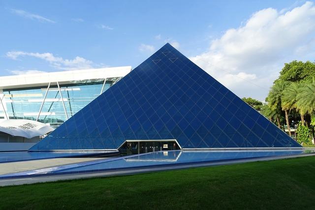 Building architecture pyramid, architecture buildings.
