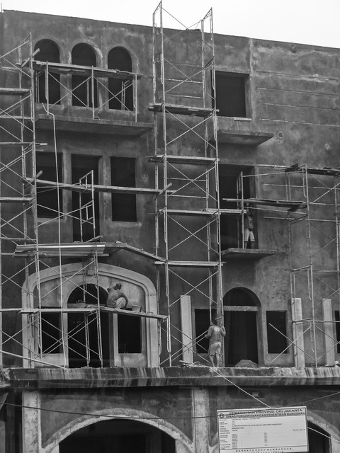 Building architecture scaffolding, architecture buildings.