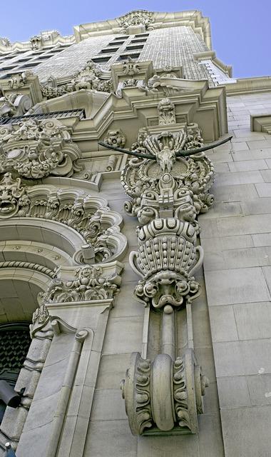 Building art gargoyle, architecture buildings.