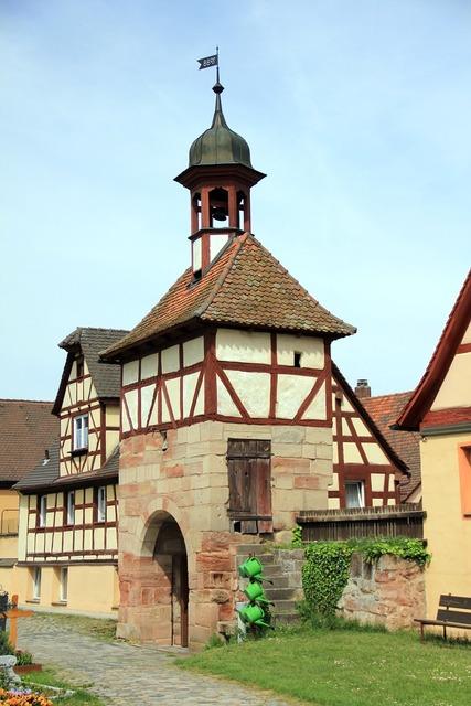 Building chapel tower, architecture buildings.