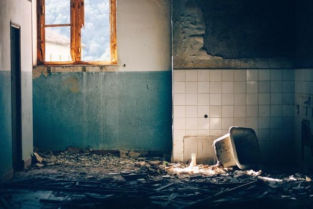 Building destroyed destruction, architecture buildings.