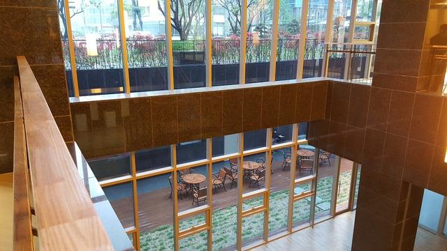 Building glass company, architecture buildings.