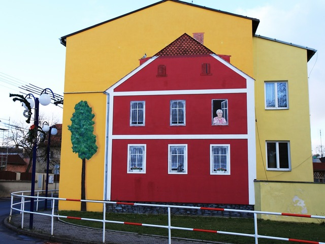 Building house painting, architecture buildings.