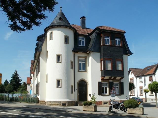 Building house schwetzingen, architecture buildings.