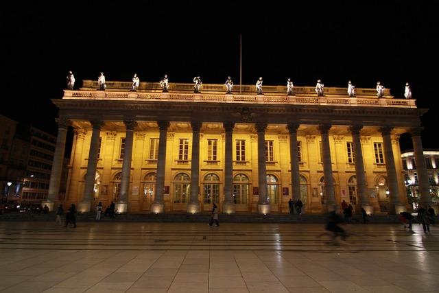 Building lit illuminated, architecture buildings.
