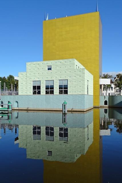 Building museum groningen, architecture buildings.