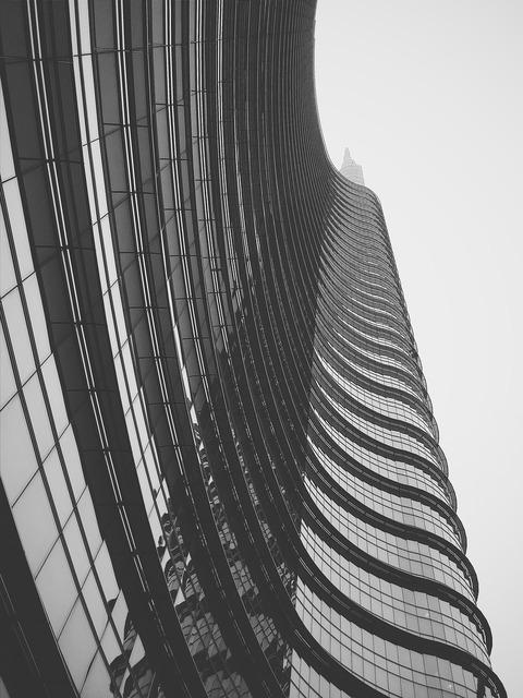 Building perspective skyscaper, architecture buildings.