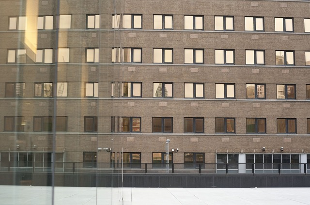 Building reflections design, architecture buildings.
