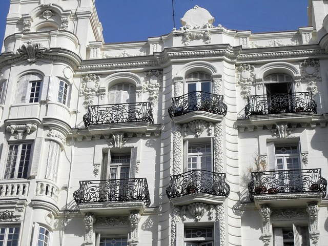 Building spain balcony, architecture buildings.