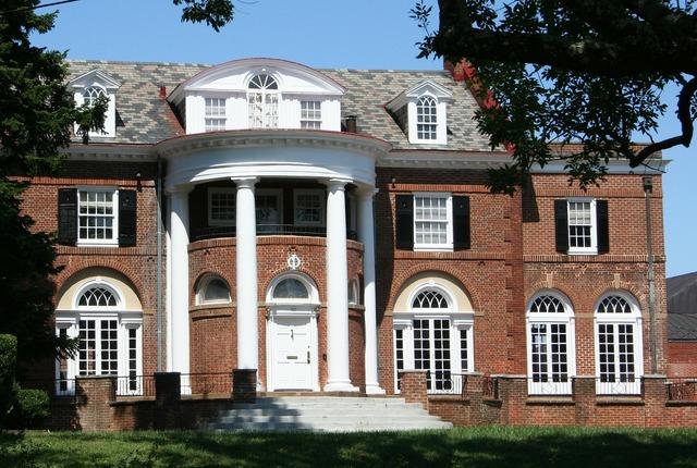 Building university college, architecture buildings.