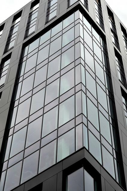 Building windows glass, architecture buildings.