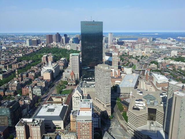 Buildings boston downtown.
