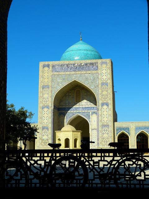Bukhara mosque kalon mosque islam, architecture buildings.