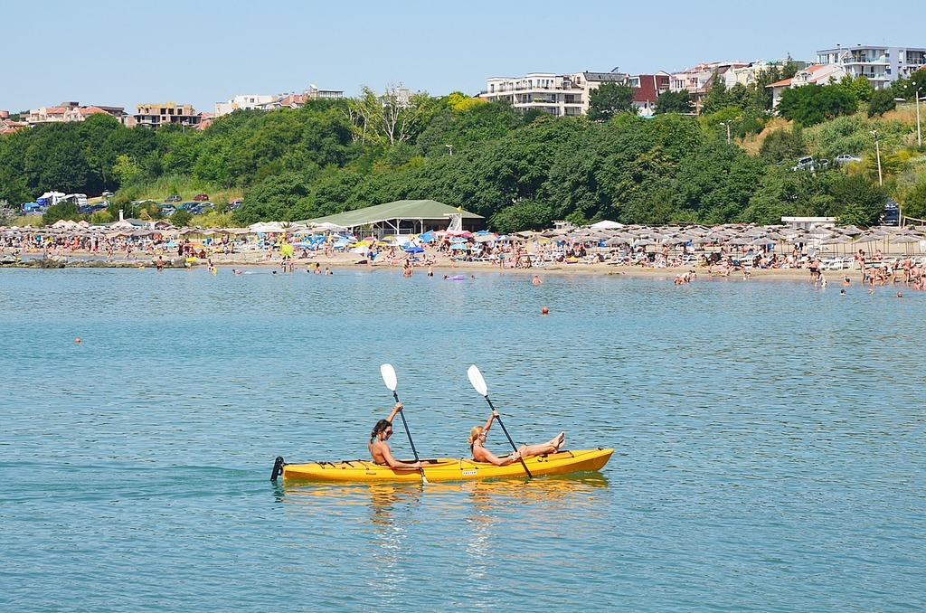 Bulgaria sea burgas, travel vacation.