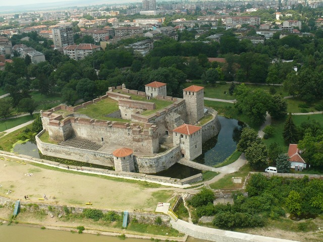 Bulgaria vidin fortress reel vidini towers.
