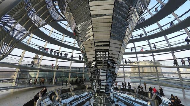 Bundestag dome berlin, architecture buildings.