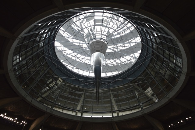 Bundestag dome light, architecture buildings.