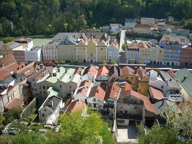 Burghausen upper bavaria middle ages.