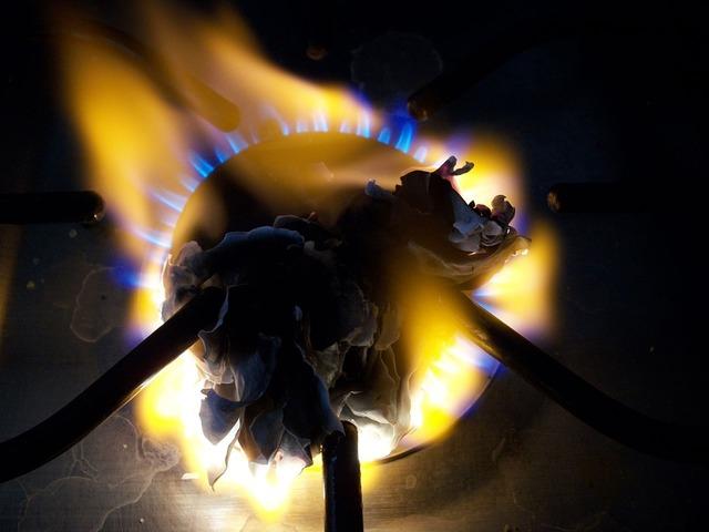 Burner fire paper.