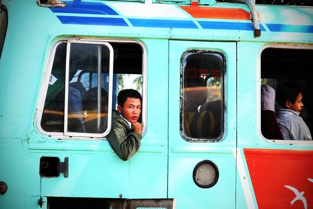 Bus passenger bus service bus.