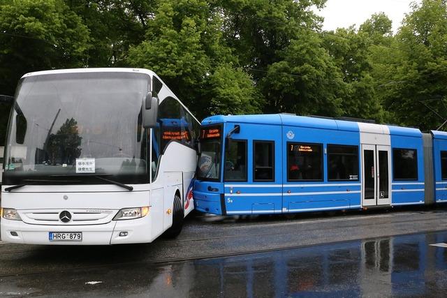 Bus tram road, transportation traffic.