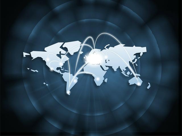 Business map world, business finance.