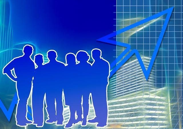 Businessmen arrow business, business finance.