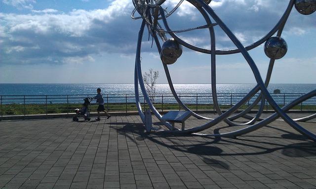 Butyl 墾 marine museum the sea.