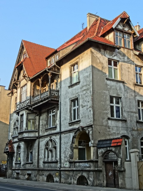 Bydgoszcz house building, architecture buildings.