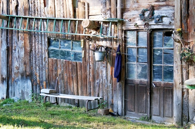 Cabin old farm, architecture buildings.