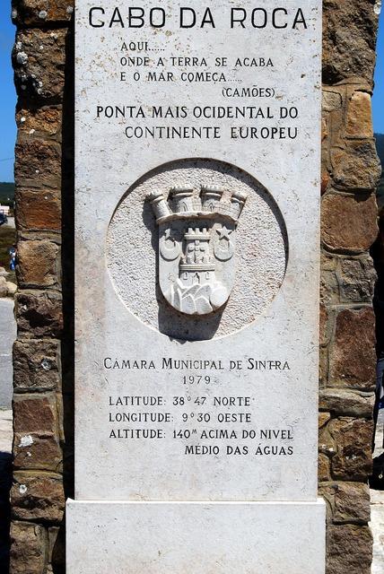 Cabo da roca monument portugal, architecture buildings.