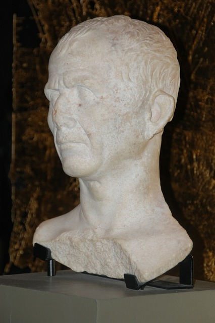 Caesar bust arles.