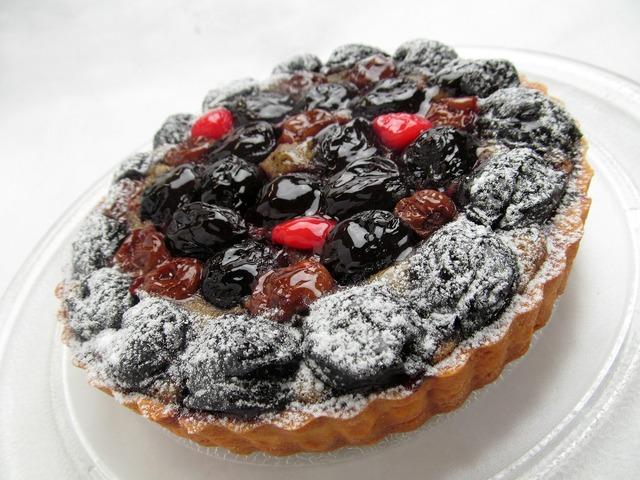 Cake fruit cherry, food drink.