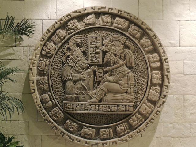 Calendar maya mexico.
