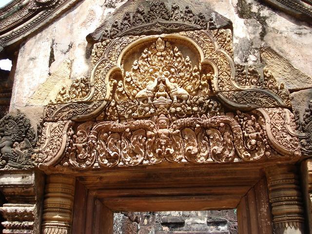 Cambodia ancient ruins.