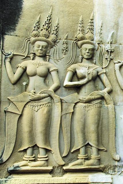 Cambodia angkor temple, religion.