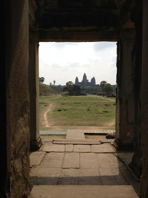 Cambodia angkor wat asia, religion.