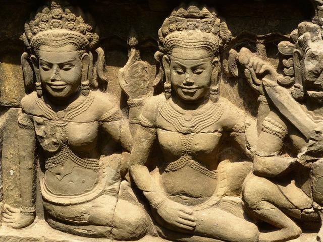 Cambodia angkor wat bayon, religion.