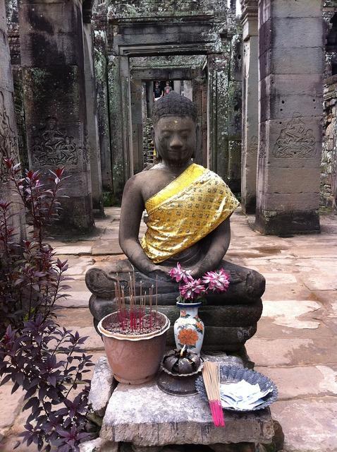 Cambodia siem reap angkor wat, religion.