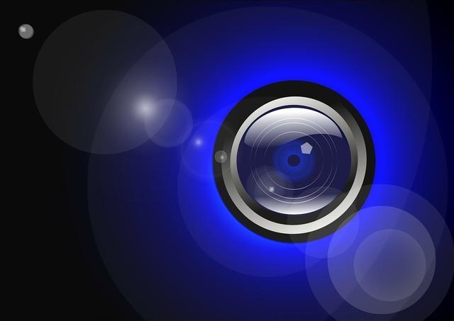 Camera lens photographer, science technology.