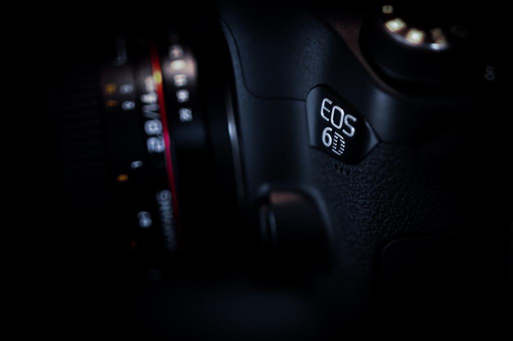 Camera the background black.