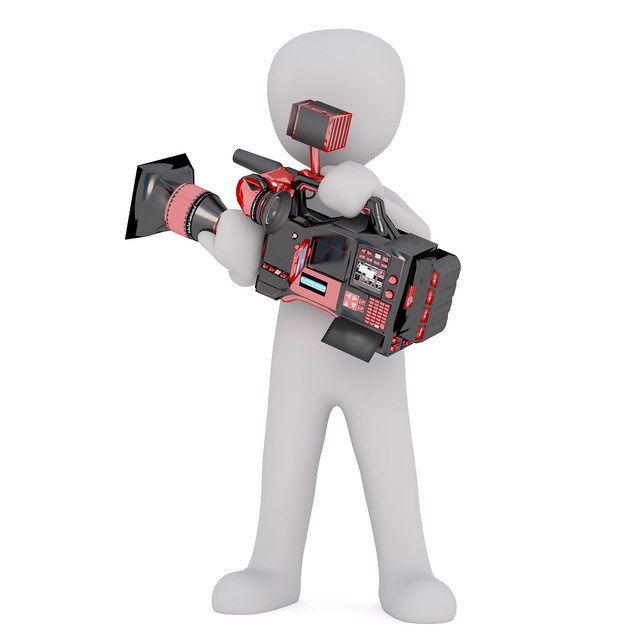 Camera video camera man, people.