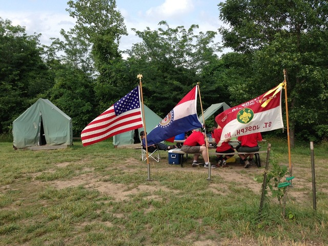 Camp tent flags, travel vacation.